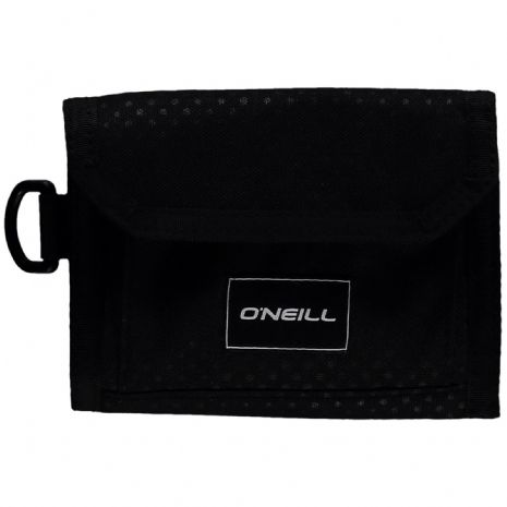 O'NEILL MENS WALLET.POCKETBOOK TRIFOLD BLACK MONEY NOTE CARD PURSE 8W 222 9900